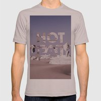 HOT DEATH Mens Fitted Tee Cinder SMALL
