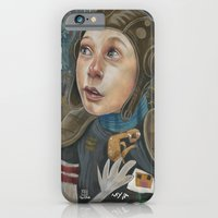 iPhone & iPod Case featuring IMAGINARY ASTRONAUT by busymockingbird