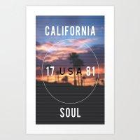California.  Art Print