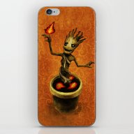 Groot iPhone & iPod Skin