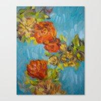 Flower Series 12 Canvas Print
