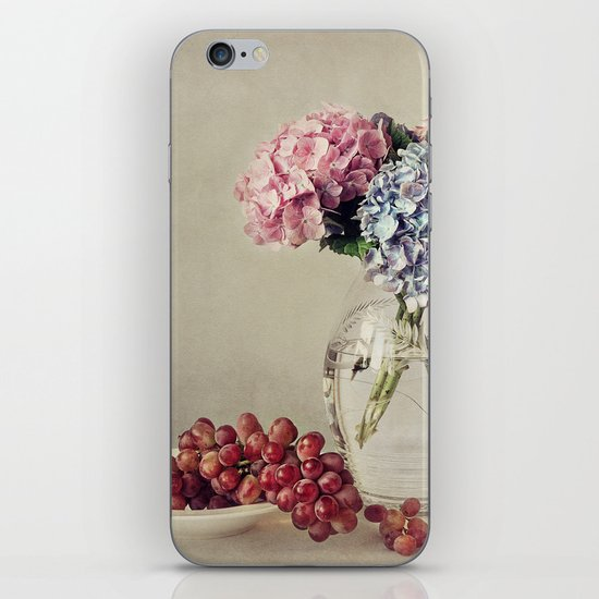 Still life with hydrangea iPhone & iPod Skin
