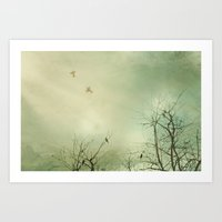 Fly Away With Me 2 Art Print