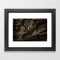 The Other Spirit Of Tree… Framed Art Print
