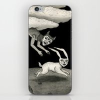 The Abduction iPhone & iPod Skin
