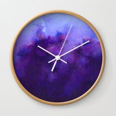 Heavenly Heather Wall Clock