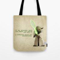Yoda Squasher  Tote Bag
