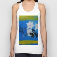 Chipper And The Bee Unisex Tank Top