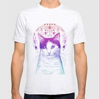 Of cats and insects Mens Fitted Tee Ash Grey SMALL