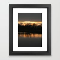 sun...rise? Framed Art Print