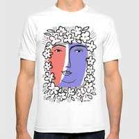 Goddess Of Spring Mens Fitted Tee White SMALL