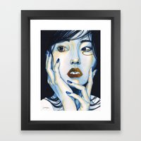 Close Up 1 Framed Art Print