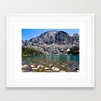 Phantom Lake Framed Art Print