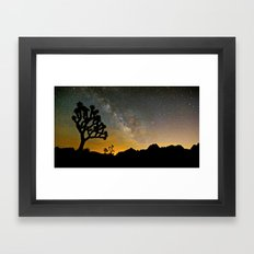 Joshua Tree, Milky Way  … Framed Art Print