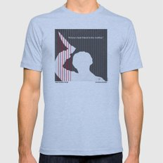 No185 My Psycho Minimal … Mens Fitted Tee Athletic Blue SMALL