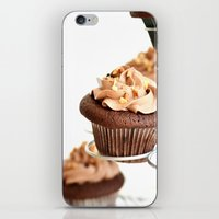 nutella cup cake iPhone & iPod Skin