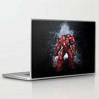 iron man Laptop & iPad Skins featuring IRON MAN iron man by alifart