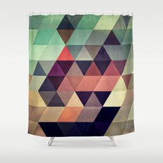 Tryypyzoyd Shower Curtain