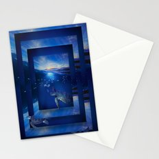 Swim the Seas Stationery Cards