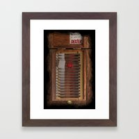 I-Dex Dexter Blood Slide… Framed Art Print