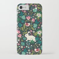 forest iPhone & iPod Cases featuring Forest Friends by Anna Deegan