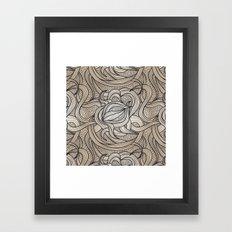 Beautiful Swirls Framed Art Print