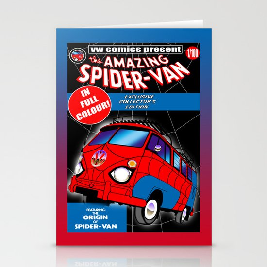 spidervan Stationery Card
