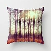 Somewhere in China Throw Pillow