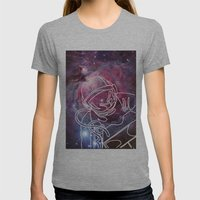 Starman Womens Fitted Tee Athletic Grey SMALL