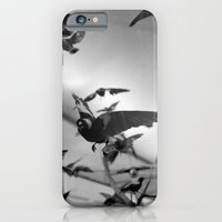 iPhone & iPod Case featuring winged flight by heather grieve