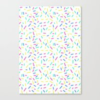 Hundreds and thousands Canvas Print