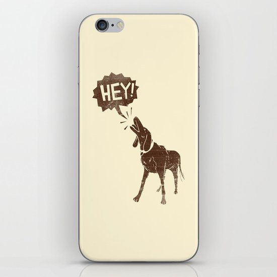 Dogs have a lot to Say iPhone & iPod Skin
