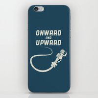 Onwards & Upwards! iPhone & iPod Skin