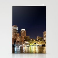 boston Stationery Cards featuring Boston by Bust it Away Photography