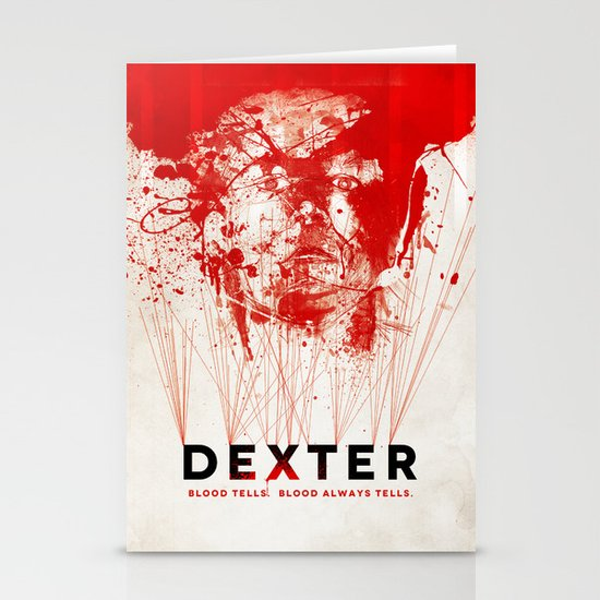 DEXTER Stationery Card