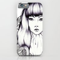 iPhone & iPod Case featuring Tree Woman by K-NIZZY