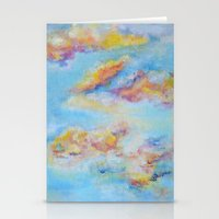 Red Sky Stationery Cards