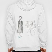 cafe girl Hoody