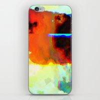 23-03-44 (Cloud Glitch) iPhone & iPod Skin