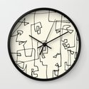 Blocks Wall Clock