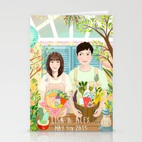 Wedding invitation design for Lisa and Alex Stationery Cards