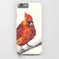 Red Cardinal Bird Collag… iPhone 6 Slim Case