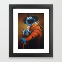Monster Ducookie Framed Art Print