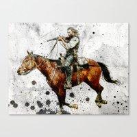 Western Outlaw Cullen Bo… Canvas Print