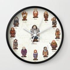 dwarves  Wall Clock