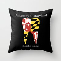 UM Throw Pillow