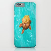 iPhone & iPod Case featuring Sea Turtle by Kr_design