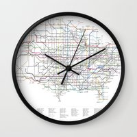 U.S. Numbered Highways A… Wall Clock