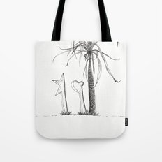 Alone En La Vida Tote Bag
