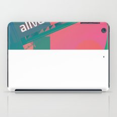 Feel More Alive iPad Case